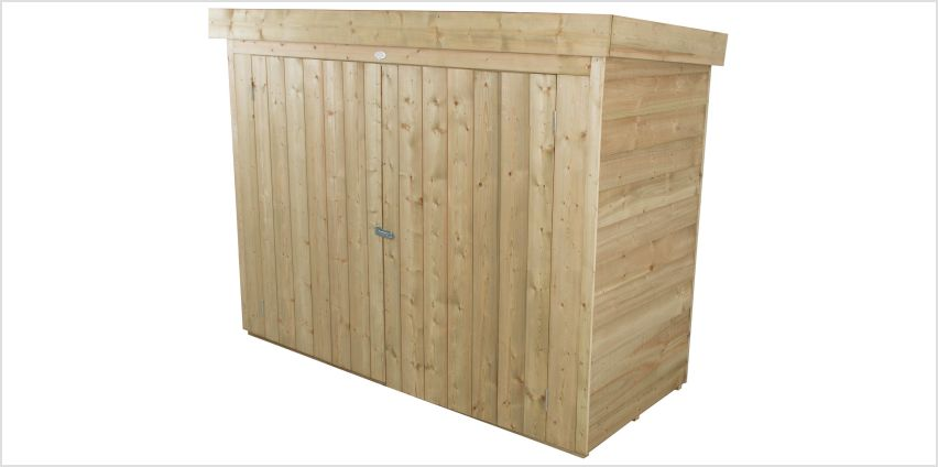 Forest Pent Large Outdoor Store - 2000 Litre from Argos