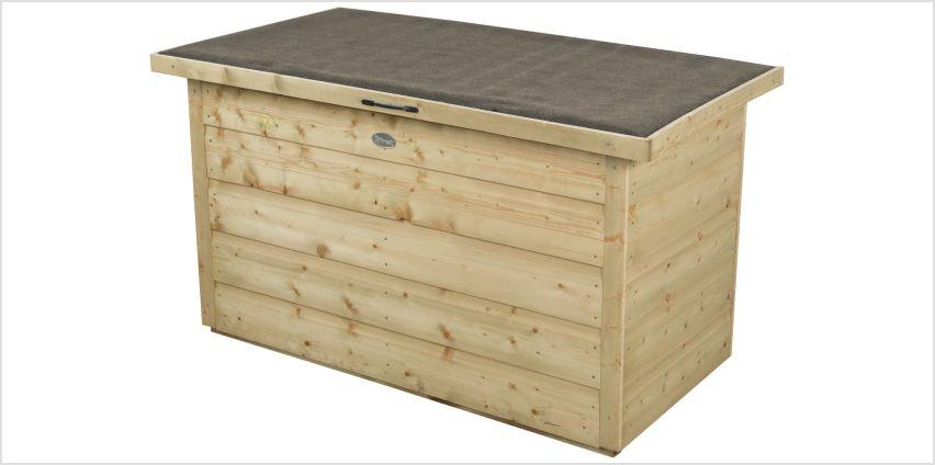 Forest Shiplap Garden Storage Box - 300 Litre from Argos