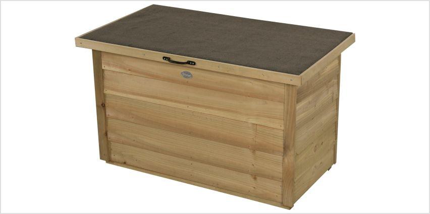 Forest Garden Storage Box - 300 Litre from Argos