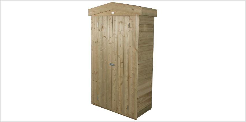 Forest Apex Tall Garden Store - 750 Litre from Argos