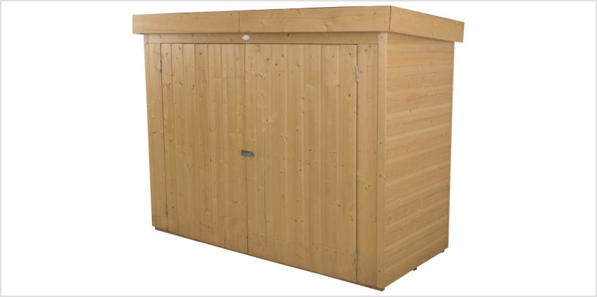 Forest Shiplap Pent Large Outdoor Store - 2000 Litre from Argos