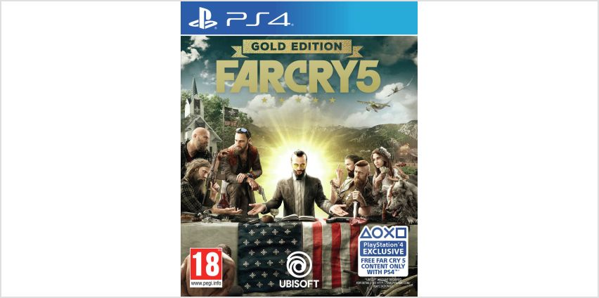 Far Cry 5 Gold Edition PS4 Game from Argos