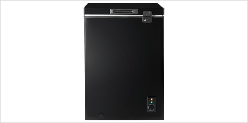 Candy CMCH100BUK 98 Litre Chest Freezer - Black from Argos