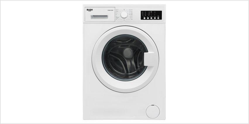 Bush WMNB1012EW 10KG Washing Machine - White from Argos
