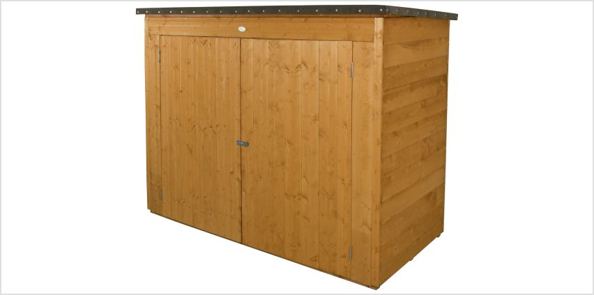 Forest Pent Large Outdoor Store Dip Treated - 2000 Litre from Argos