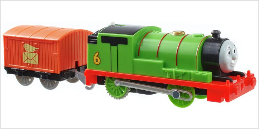 Thomas & Friends TrackMaster Motorized Percy Engine from Argos