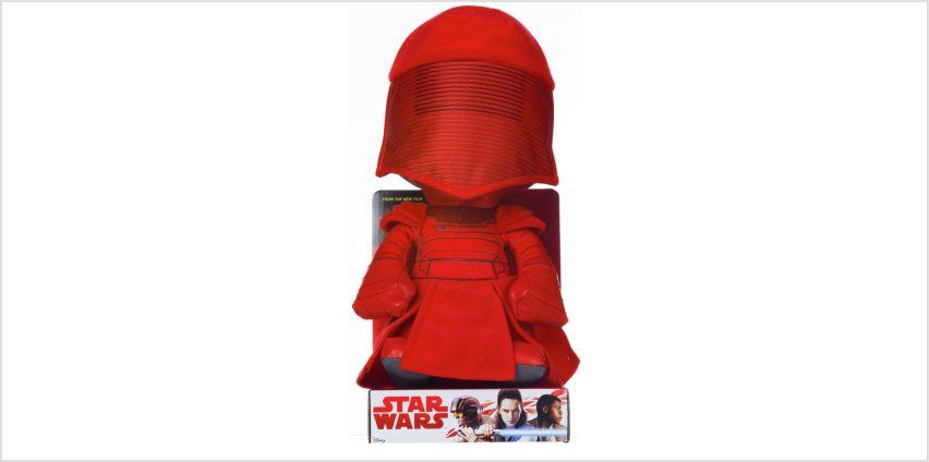 Disney Star Wars EP8 Praetorian Guard Soft Toy from Argos