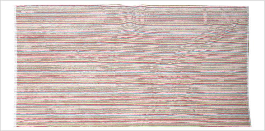 Sainsbury's Home Single Bath Towel - Bright Stripe from Argos