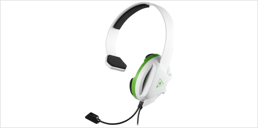 Turtle Beach Recon Chat Xbox One, PS4, PC Headset - White from Argos