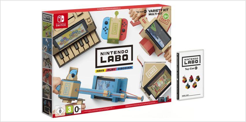 Nintendo Labo Toy-Con 01: Variety Kit from Argos