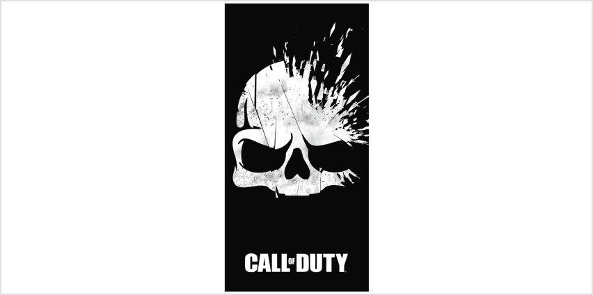 Call of Duty Skull Towel from Argos