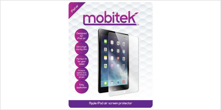 Mobitek iPad Air Screen Protector from Argos