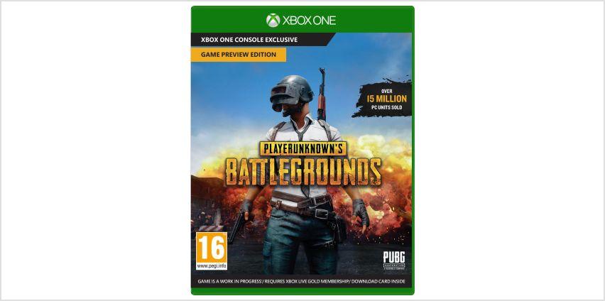 PlayerUnknown's Battlegrounds Xbox One Game from Argos