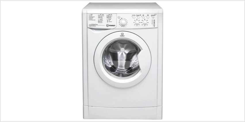 Indesit IWC71252 7KG 1200 Spin Washing Machine - White from Argos