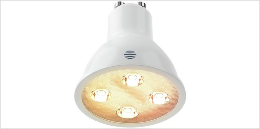 Hive Active Light Dimmable GU10 Single Bulb from Argos