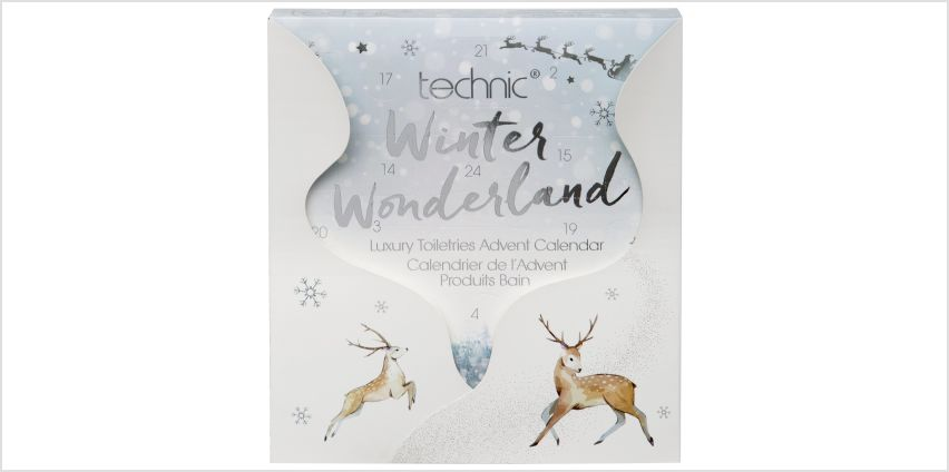 Technic Winter Wonderland Spa Advent Calendar from Argos