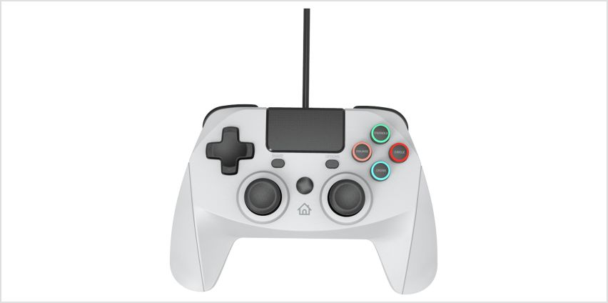 Snakebyte Game:Pad PS4 Wired Controller - Grey from Argos