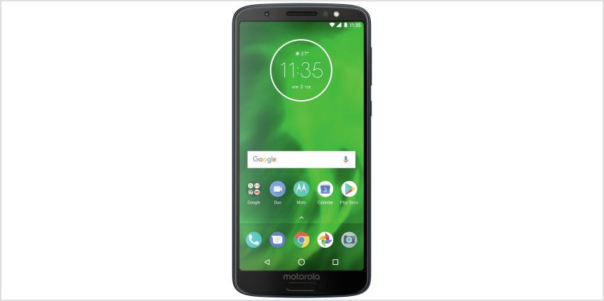 SIM Free Motorola Moto G6 32GB Mobile Phone - Deep Indigo from Argos