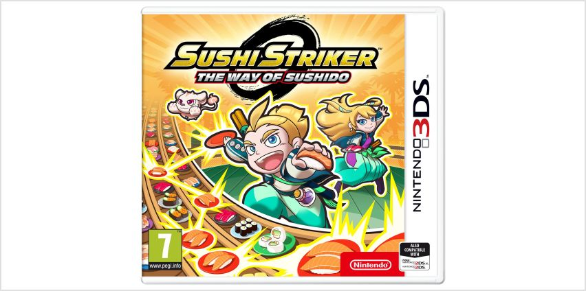 Sushi Striker: The Way of Sushido 3DS Game from Argos