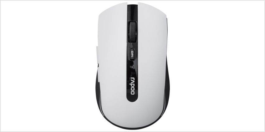 Rapoo 7200P Optical Wireless Mouse - White from Argos