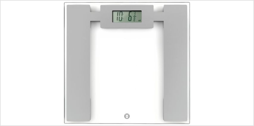 Weight Watchers Precision Glass Electronic Scale - Silver from Argos