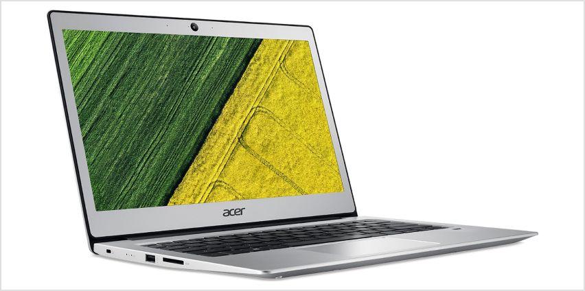 Acer Swift 1 13.3 Inch Pentium 4GB 128GB Laptop - Silver from Argos