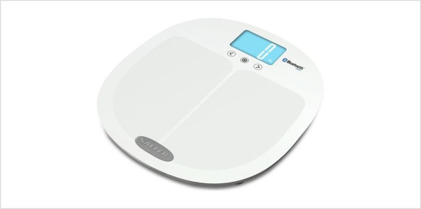 Salter Bluetooth Smart Body Analyser Scale - White from Argos