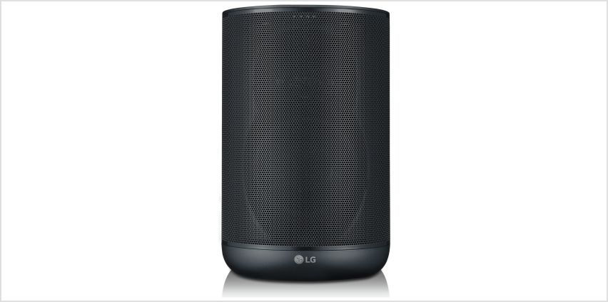 LG WK7 ThinQ Smart Speaker with Built-in Google Assistant from Argos