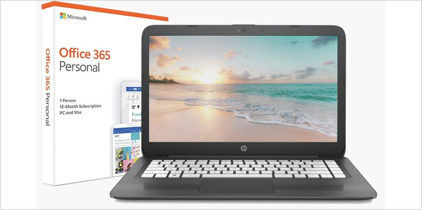 HP Stream 14 Inch AMD A4 4GB 32GB Cloudbook - Grey from Argos