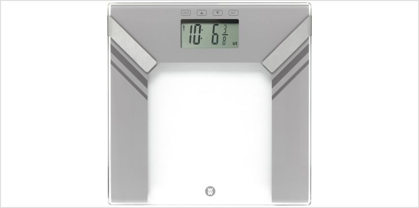 Weight Watchers Ultra Slim Body Analyser Scales - Silver from Argos
