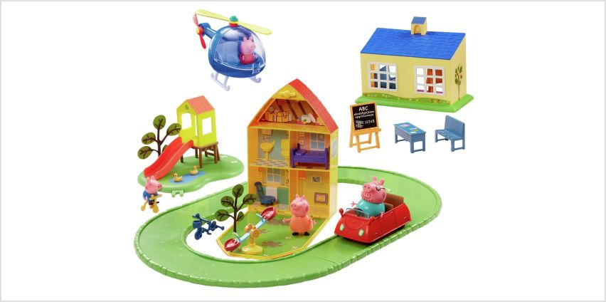 Peppa Pig World of Peppa Playset from Argos
