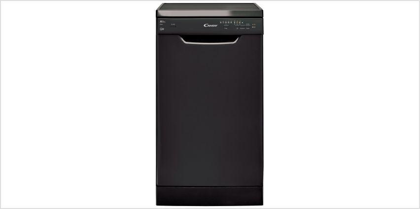 Candy CDP 2L1049B Slim Dishwasher - Black from Argos