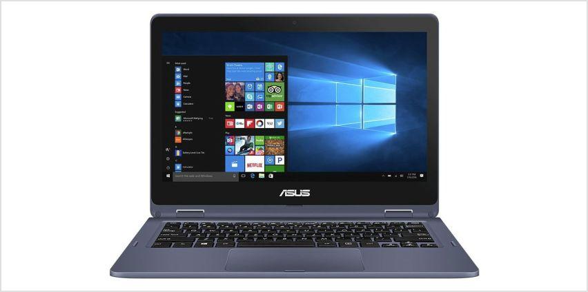 Asus VivoBook Flip 11.6 In Celeron 2GB 32GB 2 in 1 Cloudbook from Argos