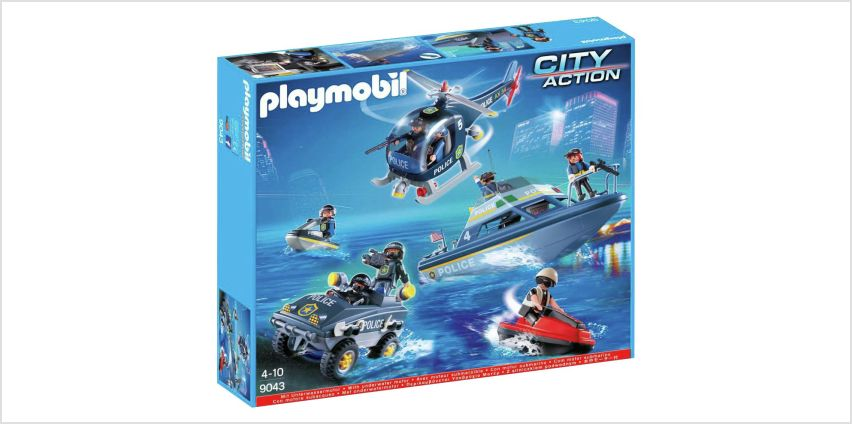 Playmobil 9043 City Action Police SWAT Set from Argos