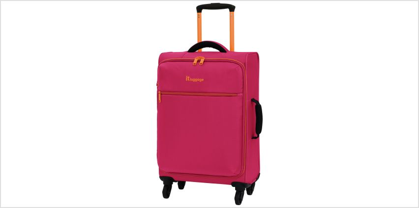 it Luggage The LITE 4 Wheel Soft Suitcase from Argos