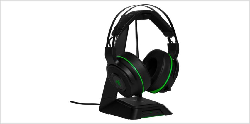 Razer Thresher Ultimate Wireless Xbox One Headset - Black from Argos