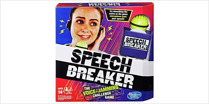 Speech Breaker from Hasbro Gaming from Argos