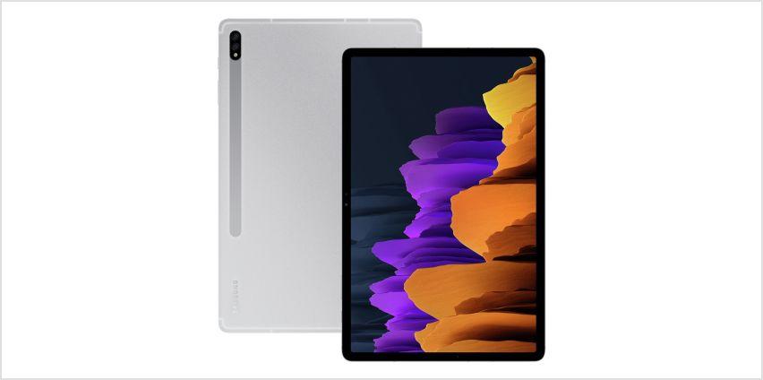Samsung Galaxy Tab S7+ 12.4in 128GB Wi-Fi Tablet from Argos