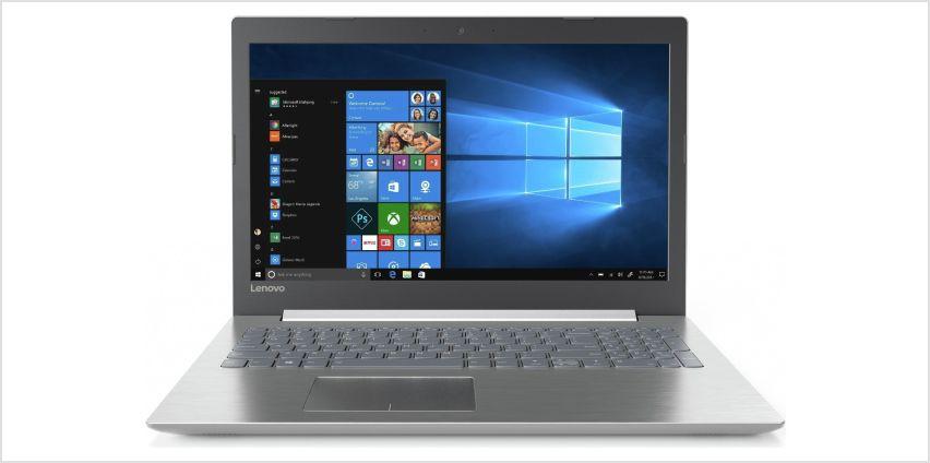 Lenovo IdeaPad 320 15.6 Inch Pentium 4GB 2TB Laptop - Grey from Argos