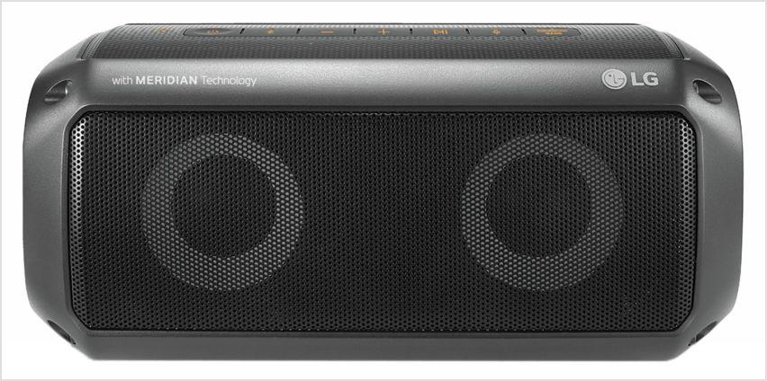 LG PK3 XBOOM GO Waterproof Bluetooth Portable Speaker from Argos