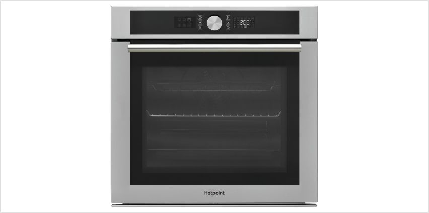 Hotpoint SI4854PIX Built In Single Electric Oven - S/Steel from Argos