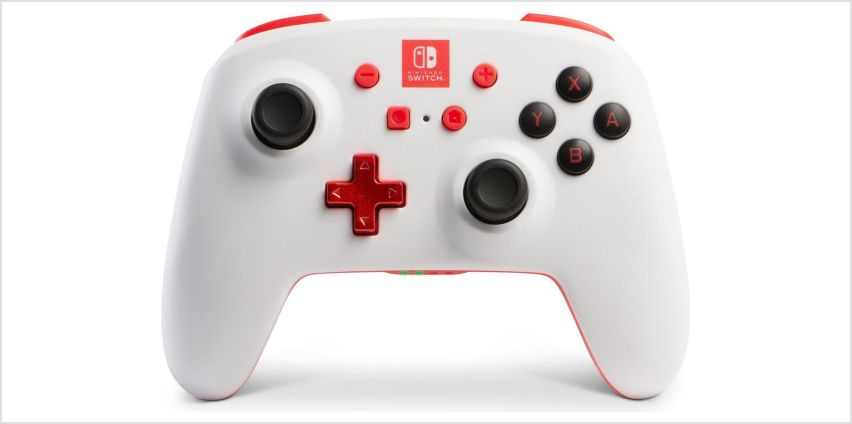Wireless Controller for Nintendo Switch - White from Argos
