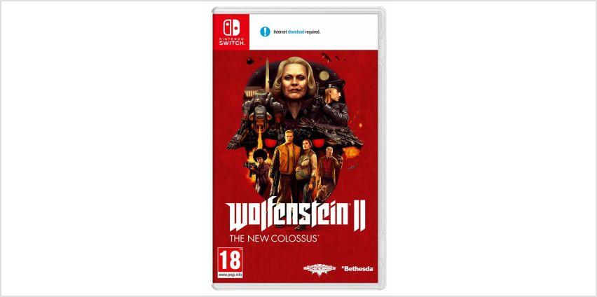Wolfenstein 2 The New Colossus Nintendo Switch Game from Argos