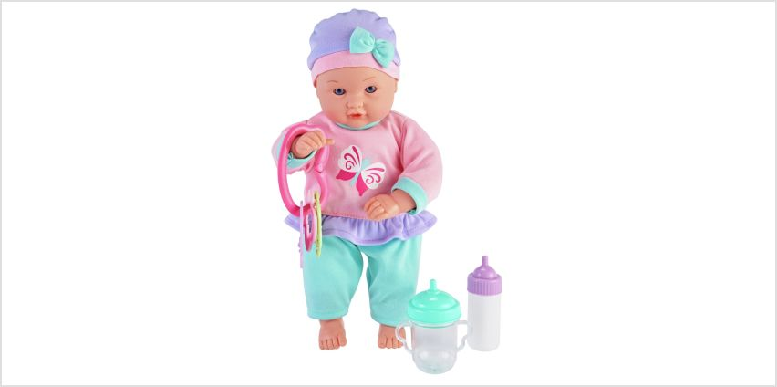 Chad Valley Babies to Love Wiggle Doll from Argos