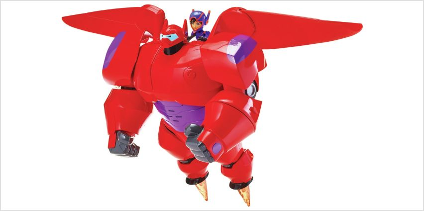 Big Hero 6 Flame Blast Flying Baymax from Argos