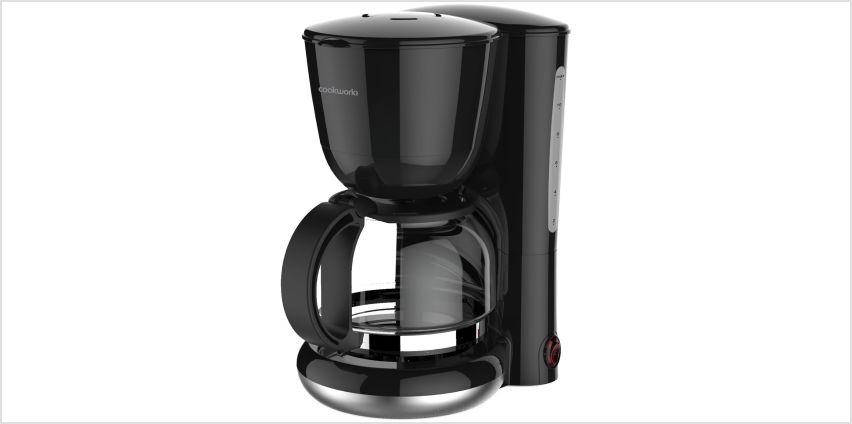 Cookworks CM2058SH Filter Coffee Machine from Argos