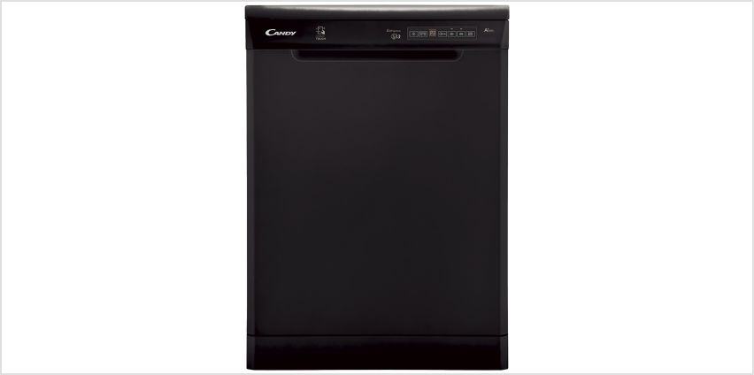 Candy CDP 1DS39B Full Size Dishwasher - Black from Argos