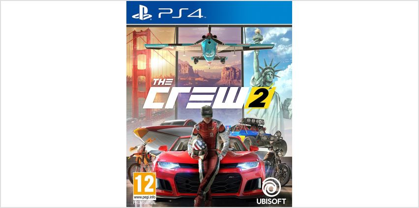 The Crew 2 PS4 Game from Argos