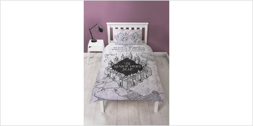 Harry Potter Mischief Bedding Set - Single from Argos