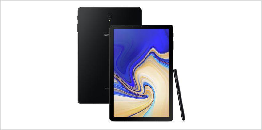 Samsung Galaxy Tab S4 10.5 Inch 64GB Tablet - Black from Argos